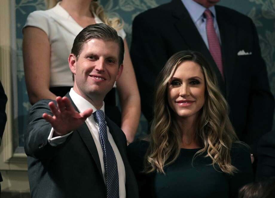 Eric Trump and Lara Trump attend the State of the Union address in the chamber of the U.S. House of Representatives Jan. 30, 2018 in Washington, D.C. Photo: Alex Wong/Getty Images