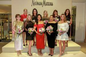 Best Dressed honorees Hallie Vanderhider, front row, from left, Millette Sherman, Claire Cormier-Thielke, Shawntell McWilliams and Lindley Arnoldy. Back row, from left, Paige Fertitta, Alicia Smith, Stephanie Cockrell, Karina Barbieri and Brigitte Kalai.