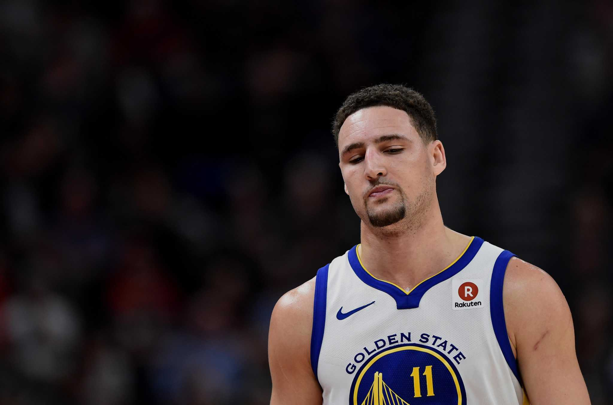 Klay Thompson s expressionless face makes for hilarious new shoe commercial  - SFGate 2d85c04f8
