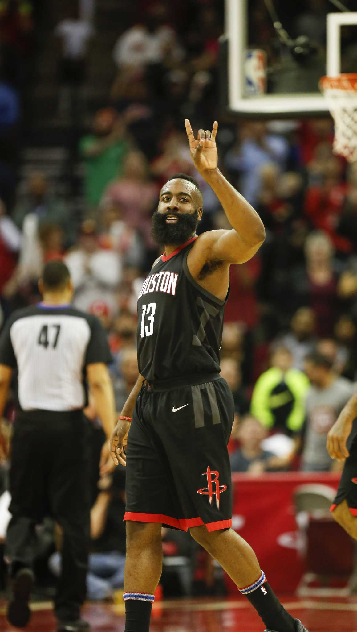 7ebf5d424c4e James Harden sets Rockets record with 60 points in win over Magic ...