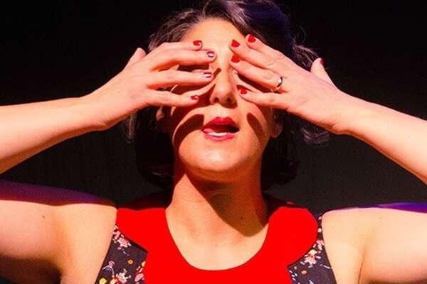 "Sara Juli in ""Tense Vagina"" (photo by Arthur Fink)"