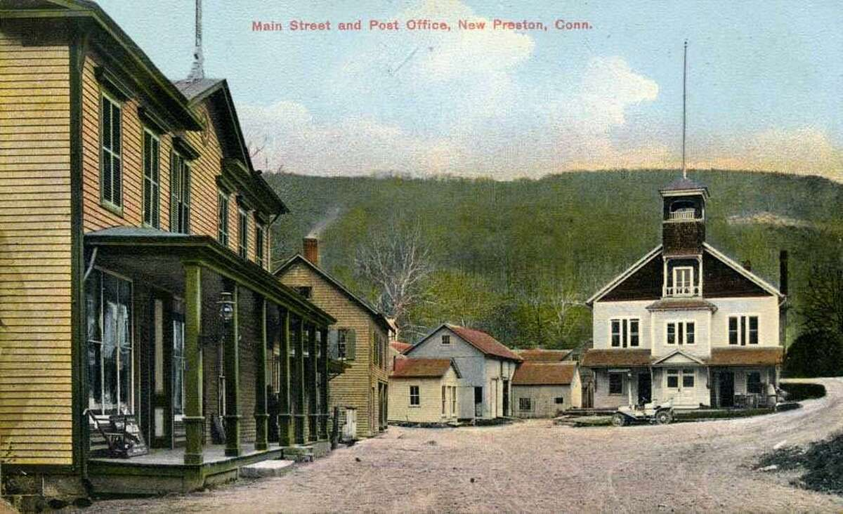 Gunn Historical Museum's Washington History Club at Night will next meet Feb. 20 at 6:30 p.m. to discuss the village of New Preston, shown above in this circa 1910 photograph. The Washington History Club at Night is a program of the Gunn Historical Museum and meets the third Tuesday of the months of November, February and May at 6:30 p.m. in the Wykeham Room of the Gunn Memorial Library on Wykeham Road to discuss the history of Washington, Washington Depot, Marbledale, New Preston and Woodville. For more information, call 860-868-7756. If you have a