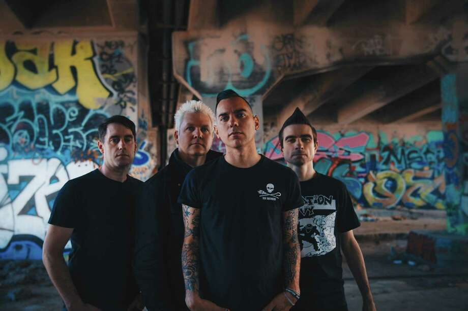 Rock band Anti-Flag hails from Pittsburgh and creates protest music Photo: Jake Stark / 2016