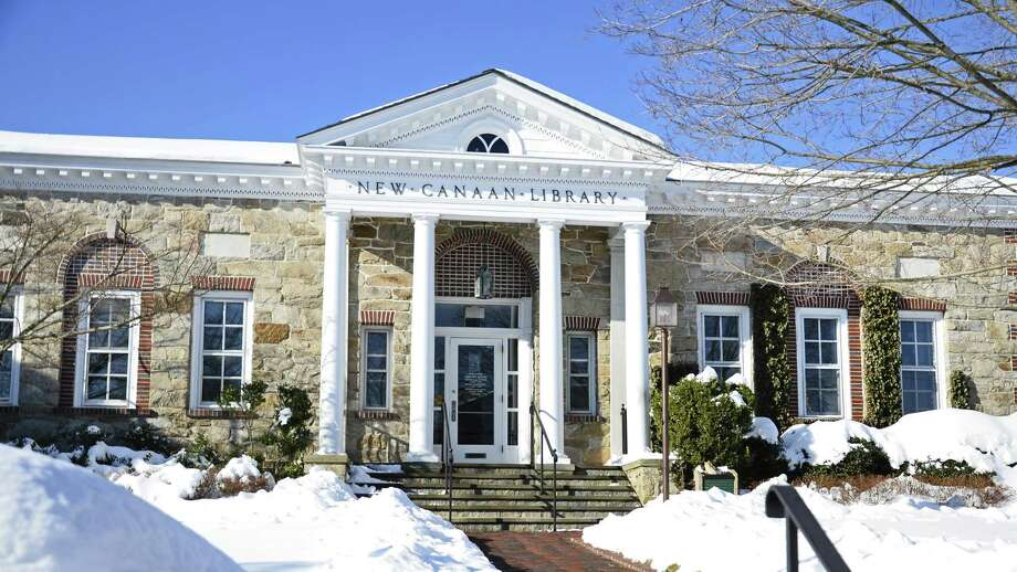 New Canaan Library's Executive Director Lisa Oldham said a feasibility study was recently launched to determine what level of fundraising the library is likely to achieve to build a new facility. Photo: Nelson Oliveira / New Canaan News