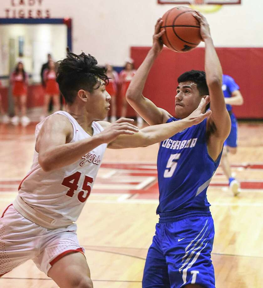 Mikey Gallegos and Cigarroa's two-game win streak was snapped Tuesday as the Toros fall to 8-5 in District 31-5A. Photo: Danny Zaragoza /Laredo Morning Times
