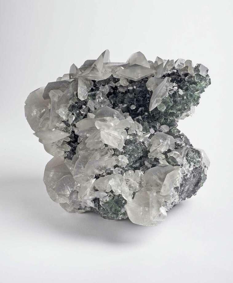 Fluorite on Calcite, Robert R. Wiener Collection Photo: Contributed / Paul Mutino