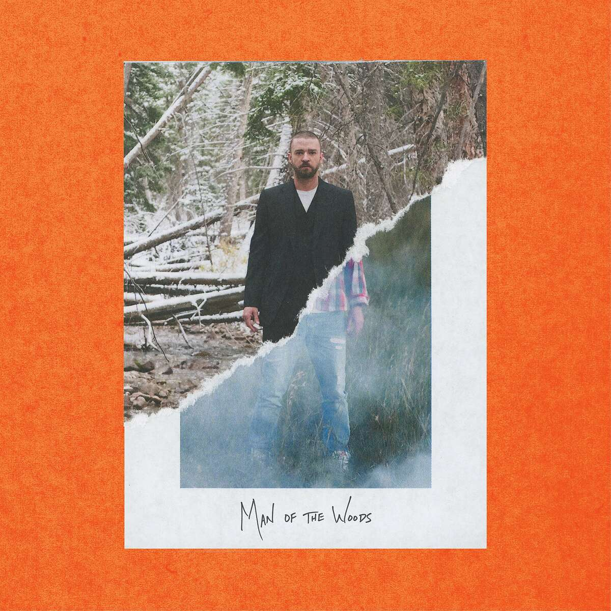 Justin Timberlake's fifth studio album is 'Man of the Woods'