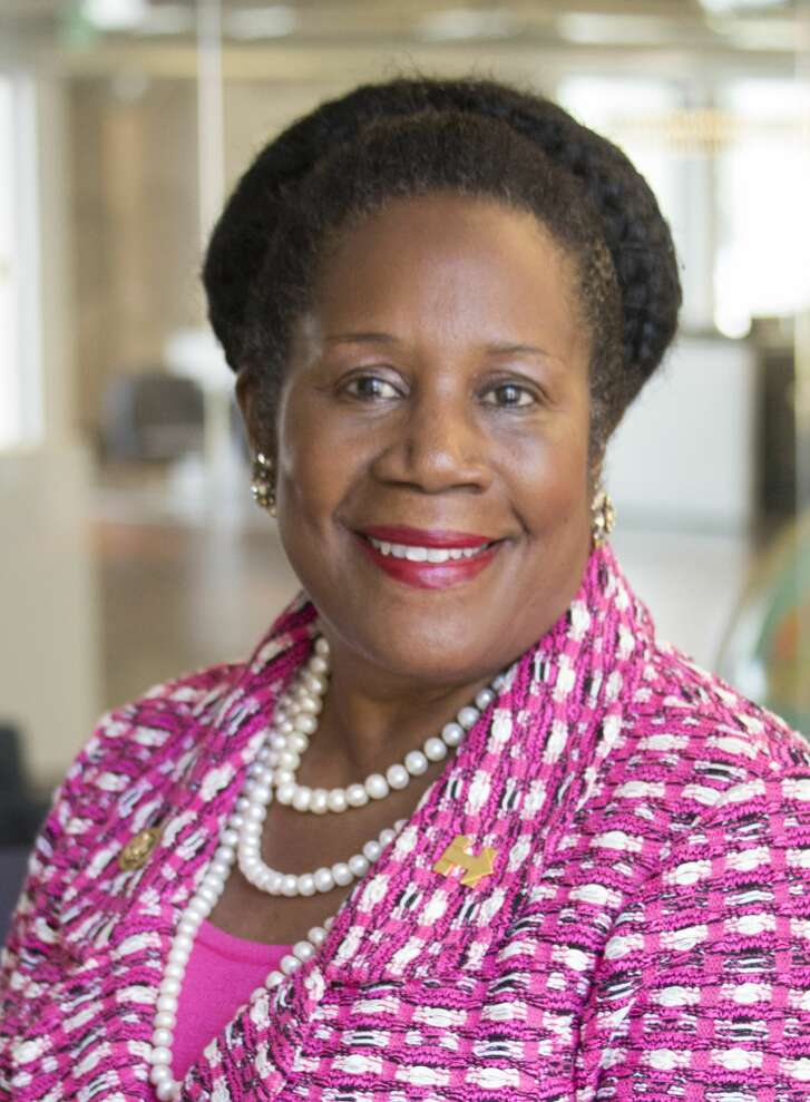 Sheila Jackson Lee is a candidate for U.S. Representative for Texasí 18th congressional district shown Tuesday September 20, 2016. (Jeremy Carter / Houston Chronicle)