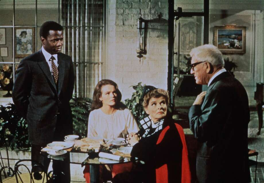 """Guess Who's Coming to Dinner"" starred Sidney Poitier, Katharine Houghton, Katharine Hepburn and Spencer Tracy. Photo: Photofest C"