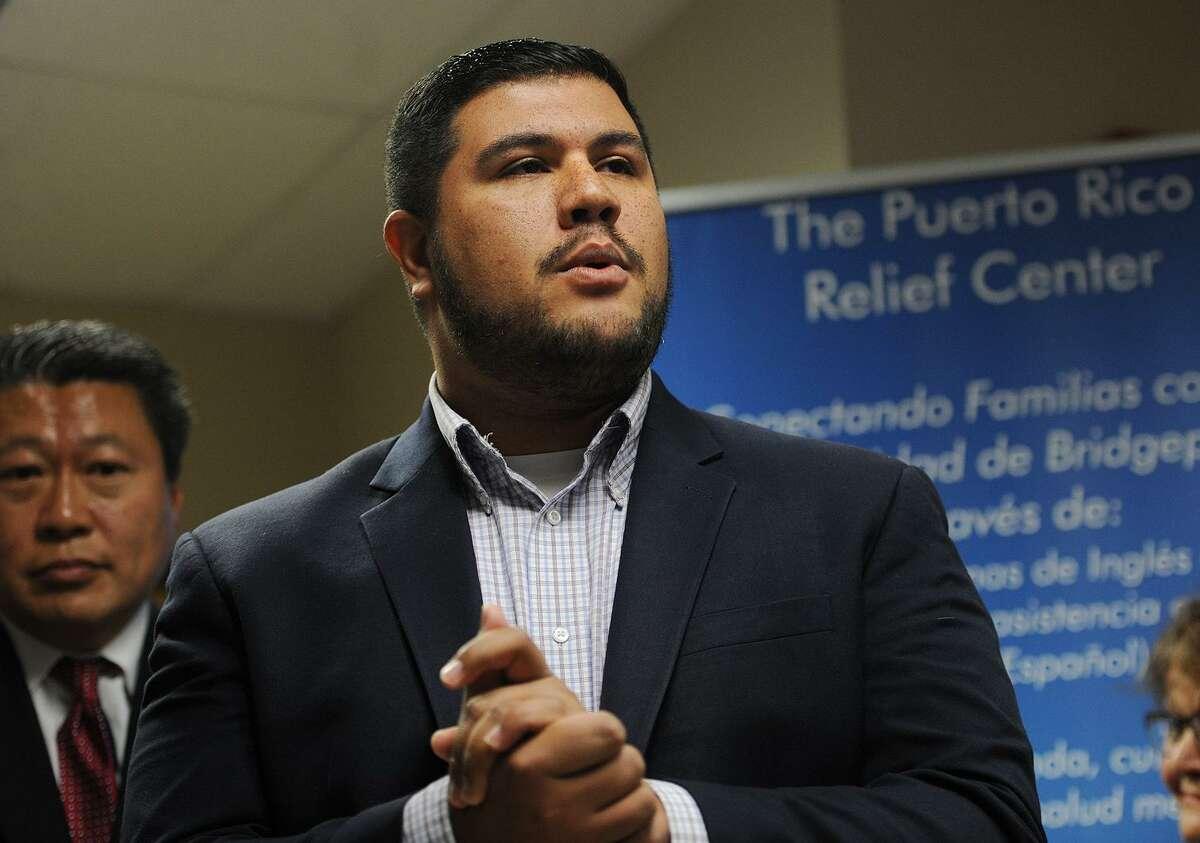 State Rep. Chris Rosario, D-Bridgeport