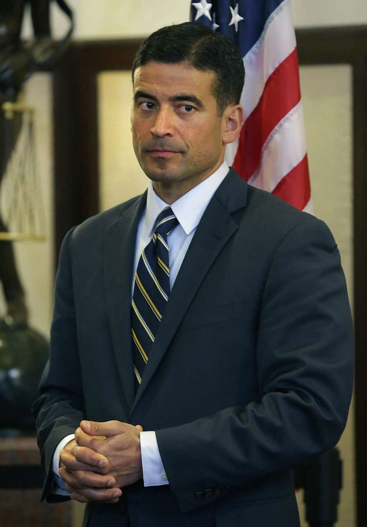 A source said Bexar County District Attorney Nico LaHood has waived his right to a trial in district court, opting instead for a closed hearing before a panel of a grievance committee.