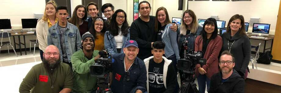Jill Barton, who teaches Digital Media at the Northside Independent School District campus, told mySA.com that 14 of her sophomore students lent their talents to an Adobe-based project which launched in November.