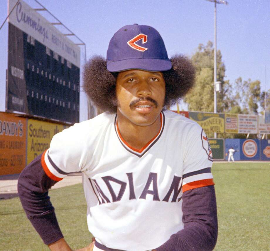 Oscar Gamble had to shear off his famous afro when he joined the New York Yankees. Photo: RHH, Associated Press