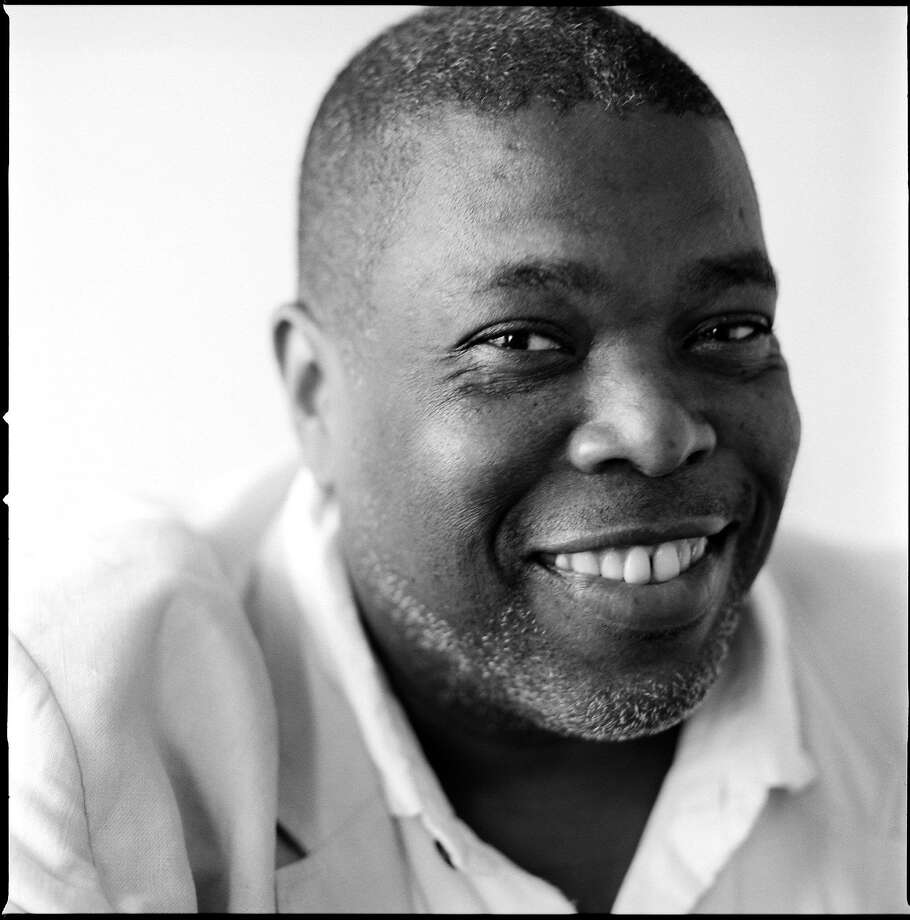 Author Hilton Als speaks at Nourse Theater in San Francisco on Thursday, Feb. 8. Photo: Brigitte Lacombe