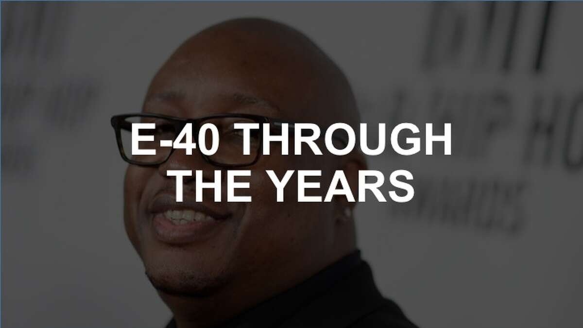 Click through the slideshow to see photos of the Bay Area rapper E-40 through the years.