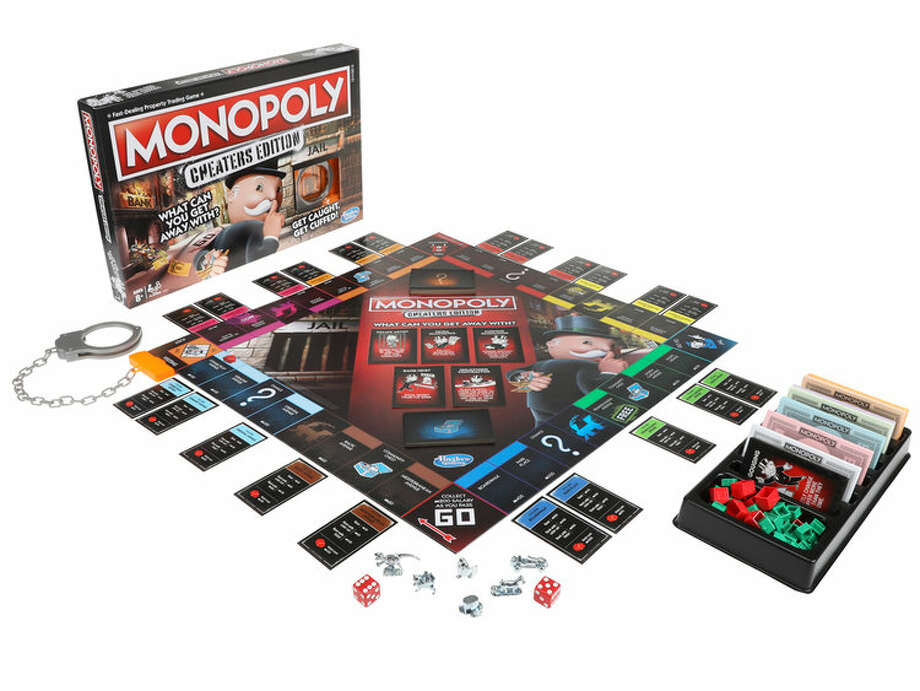 "A new version of Monopoly is set to encourage players to cheat in what gaming company Hasbro is dubbing the ""Cheaters Edition."" Photo: Courtesy Hasbro"