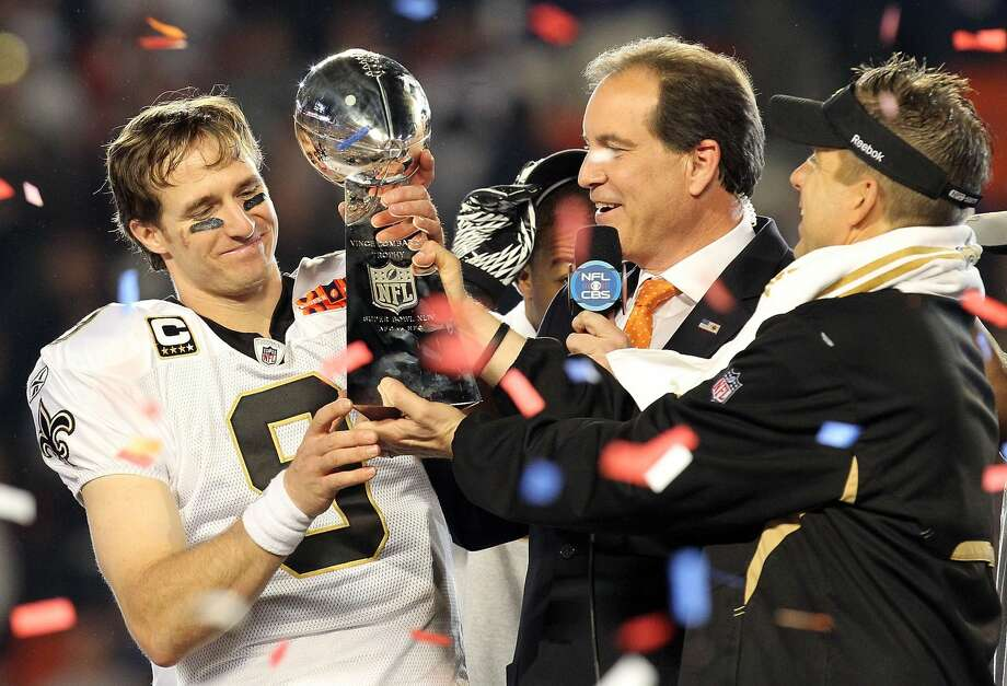 Drew Brees' impact in New Orleans was immediate, as he led the Saints to the NFC Championship Game in his first season and a Super Bowl championship in year four. Photo: Ronald Martinez/Getty Images
