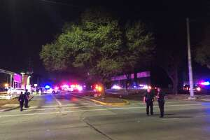 Authorities said a Harris County Sheriff's Office deputy and an innocent bystander were shot and wounded at a Spring house when deputies tried to arrest a suspect in a potentially violent domestic dispute on Jan. 31, 2018 and the man pulled a handgun from his waistband and began firing. After an exchange of gunfire and a SWAT standoff, the handcuffed suspect was found dead inside the home.