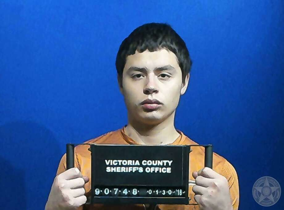 John Paul Davila, 18, was arrested in San Antonio. He's accused of killing a Victoria resident who was working on his home.