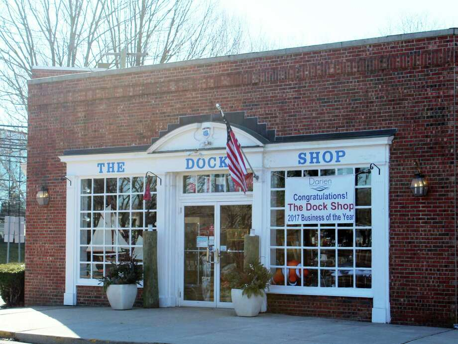 The Dock Shop in Darien was awarded the 2017 Business of the Year Award in December by the Darien Chamber of Commerce. Photo: Erin Kayata / Hearst Connecticut Media / Darien News