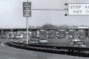 A fiery accident that killed seven people at the Stratford toll plaza on Interstate 95 in 1983 led to the removal of the booths on Connecticut highways.