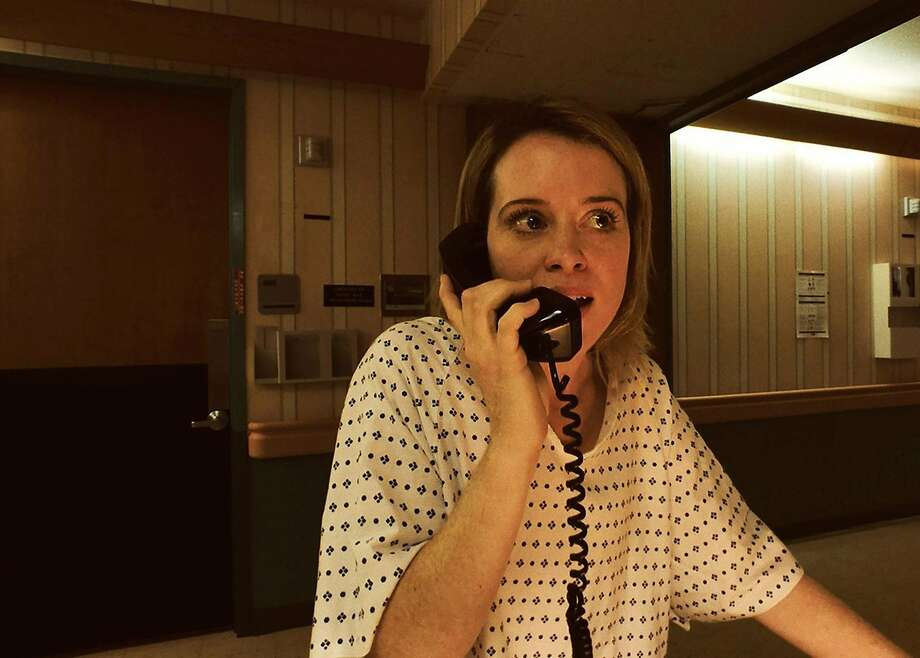 "Claire Foy is tricked into committing herself to an asylum in ""Unsane,"" shot on an iPhone. Photo: Bleecker Street Media"