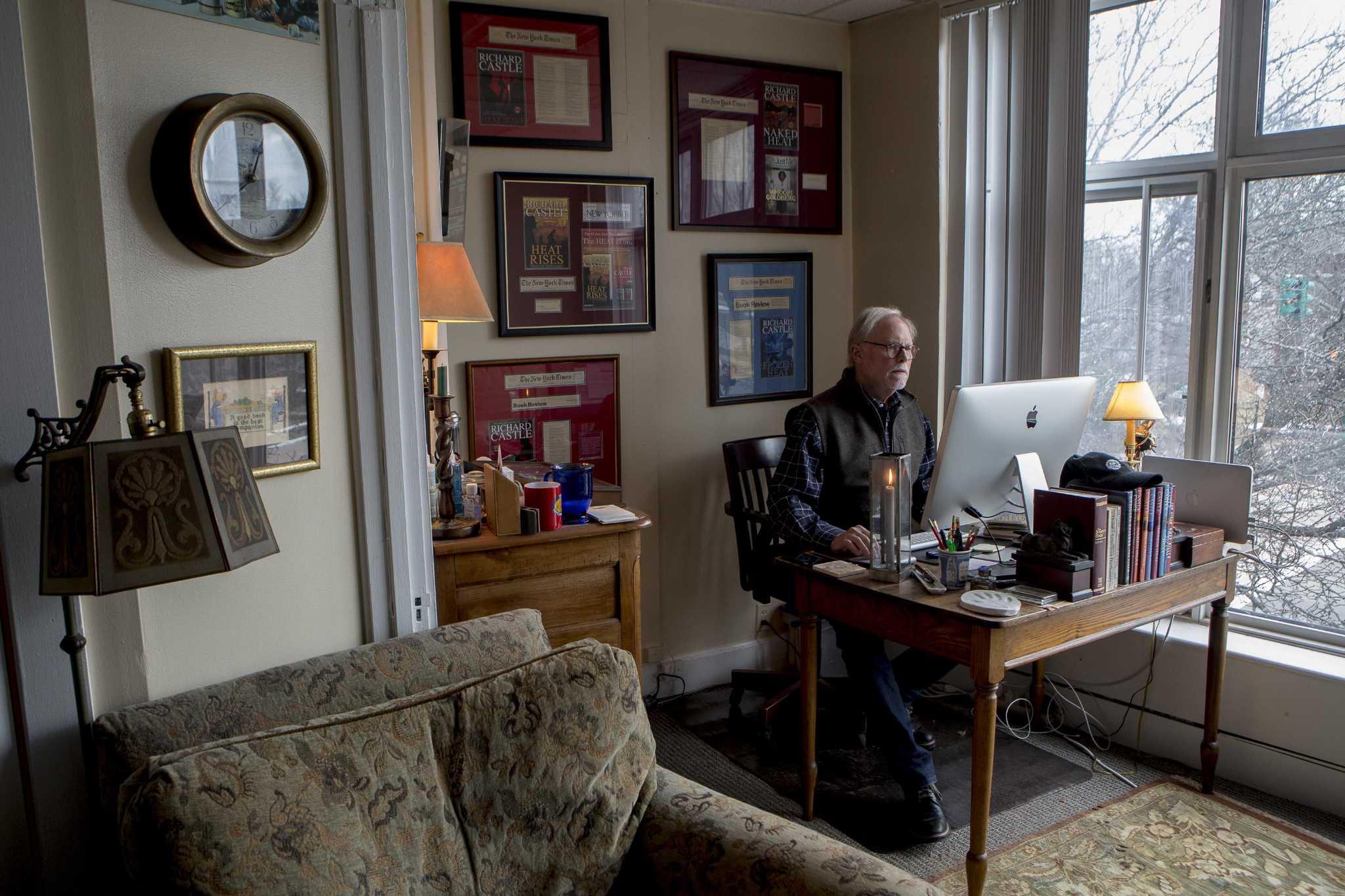 Branford's 'Richard Castle' free to write under his own name