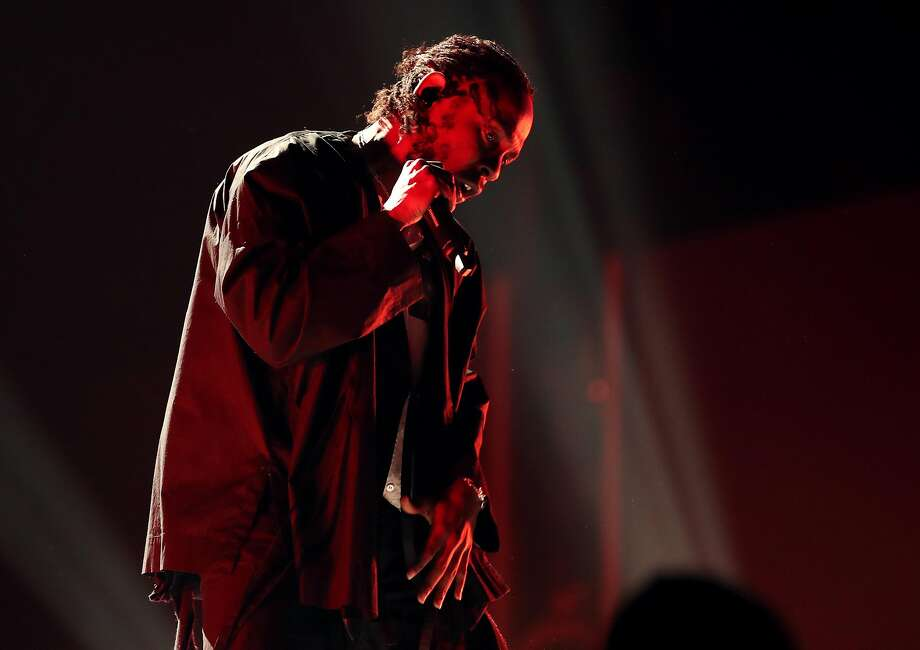 Recording artist Kendrick Lamar performs onstage during the 60th Annual GRAMMY Awards at Madison Square Garden on January 28, 2018 in New York City. Photo: Christopher Polk, Getty Images For NARAS