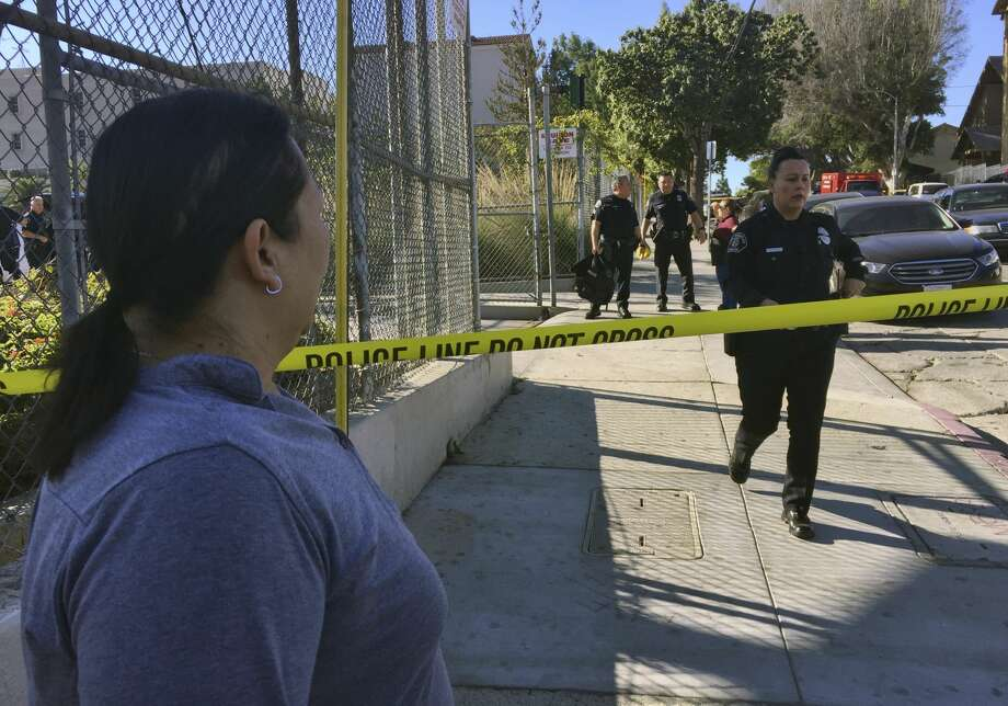 Female Student Seen in Handcuffs After LA School Shooting