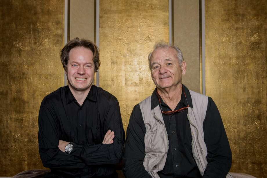 Jan Vogler and Bill Murray pose for a photo during Universal Inside 2017 organized by Universal Music Group at Mercedes-Benz Arena on September 6, 2017 in Berlin, Germany. The pair are coming to Houston in April.See the other funny people coming to town in 2018... Photo: Stefan Hoederath/Getty Images