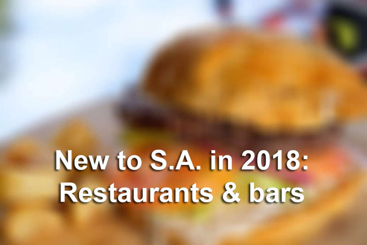 Looking for something new to try in San Antonio in 2018? You're in luck. New restaurant and bar announcements have been rolling in regularly since the new year.