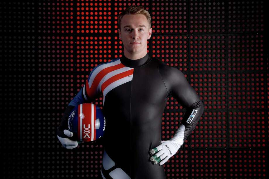 PARK CITY, UT - SEPTEMBER 25:  Luger Tucker West poses for a portrait during the Team USA Media Summit ahead of the PyeongChang 2018 Olympic Winter Games on September 25, 2017 in Park City, Utah.  (Photo by Tom Pennington/Getty Images) Photo: Tom Pennington / 2017 Getty Images