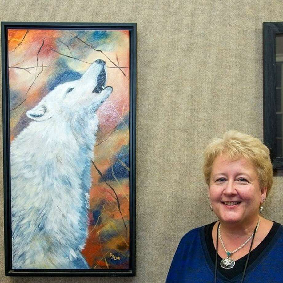 Artist Paula Slym Lee will show her work, along with daughter Amanda Rasch, throughout the month at the Portland Library. The show's opening is Saturday from 2 to 4 p.m. Photo: Contributed Photo