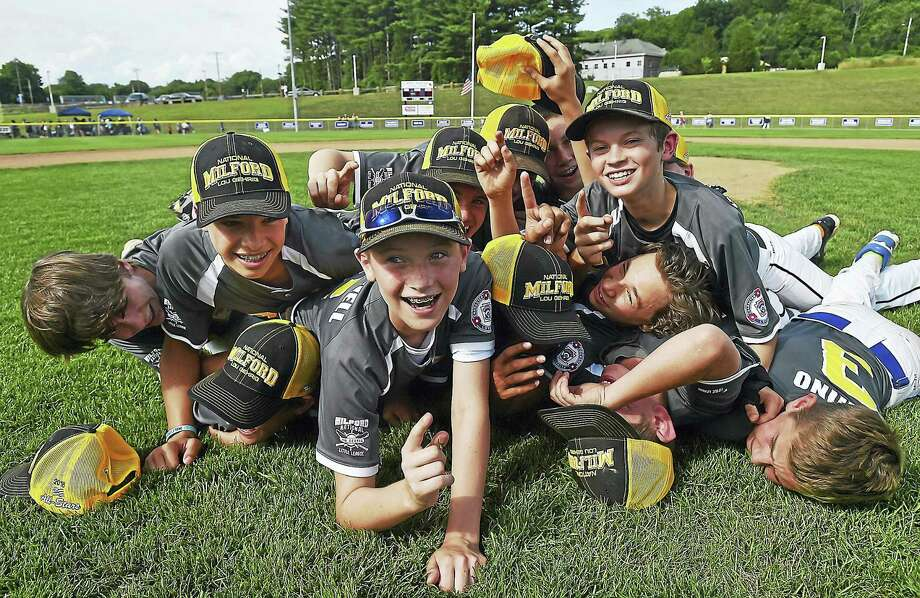 Catherine Avalone - New Haven Register ¬ Milford National defeated West Haven 16-11 in the District 4 Little League Championship game in 2016 at Edward C. Wall Little League Field in North Branford. Photo: Sean Barker / Journal Register Co. / New Haven RegisterThe Middletown Press