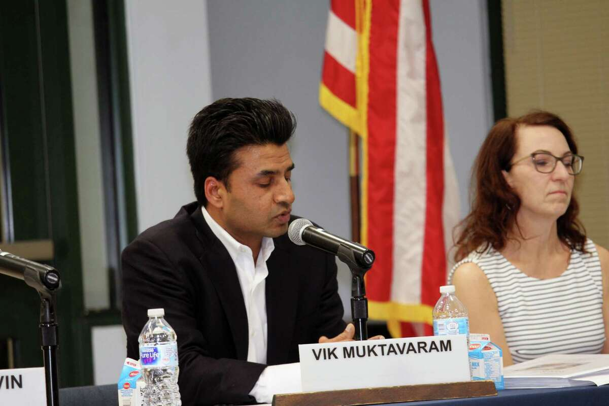Board of Education member Vik Muktavaram suggested the district work to address the culture around sexual harassment and assault, in addition to policies, at the Jan. 29, 2018 meeting in Westport, Conn.