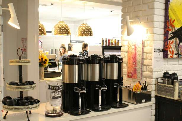 Brew St. Bakery opened an underground second locationin the Bank of America basement.