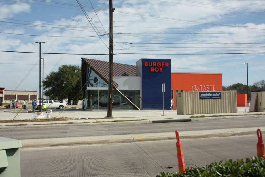 The new Burger Boy location is close to opening at 9334 Potranco. It's the first expansion of the restaurant that started at 2323 N. St. Mary's St. Photo: Chuck Blount /San Antonio Express-News