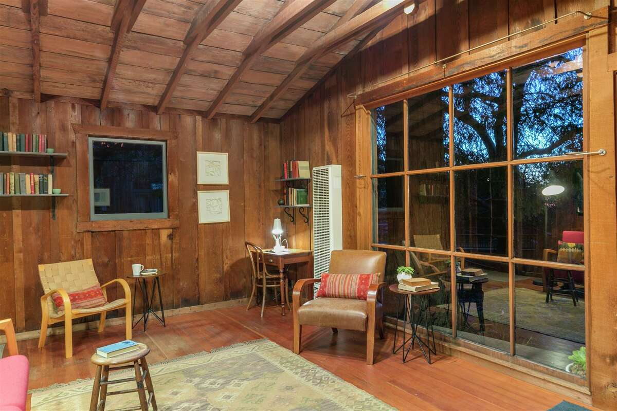 A cozy cabin in the woods of the Berkeley Hills is on the market for $479,000.