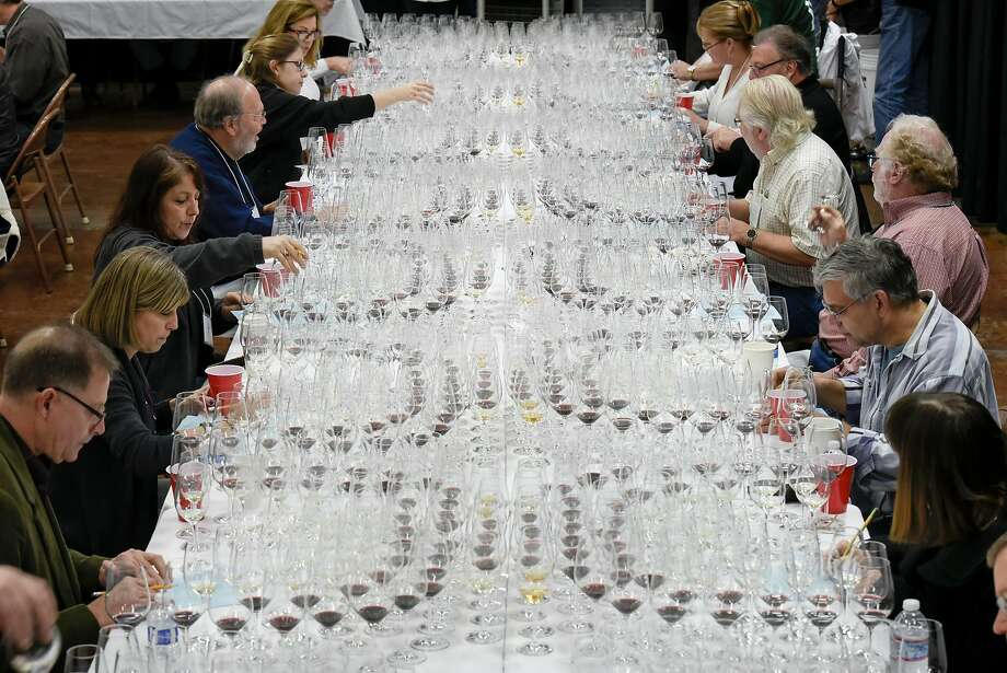 The San Francisco Chronicle Wine Competition had 6,960 wines vying for coveted Bronze, Silver, Gold or Double Gold medals and the prestigious Sweepstake Award. Photo: Michael Short, Special To The Chronicle