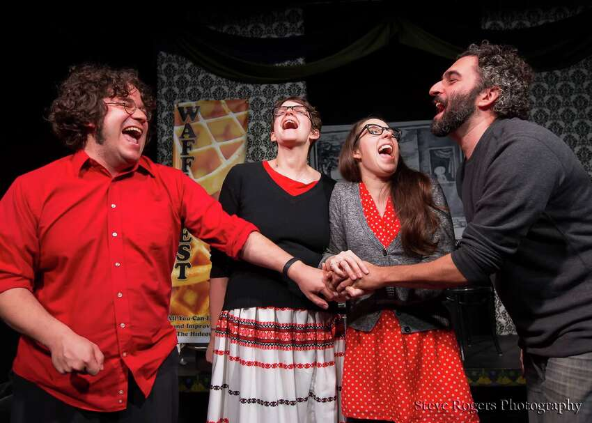 Austin-based Parallelogramophonograph -- or, as they are more commonly known, PGrahp -- is the headliner for Bexar Stage's Big-Little Comedy Fest, billed as