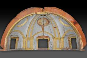 """Model of the Vault of the Chapel of the King of France in Saint Peter's Basilica,"" created in late 1556–early 1557 by Michelangelo Buonarroti, with the carpenters of the Fabbrica di San Pietro, is among works that will be on view March 11-June 10 at the Museum of Fine Arts, Houston in the exhibition ""Michelangelo and the Vatican: Masterworks from the Museo e Real Bosco di Capodimonte, Naples."""