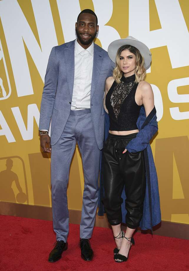 FILE - In this June 26, 2017, file photo, former NBA basketball player Rasual Butler and his wife Leah LaBelle, whose given name is Leah LaBelle Vladowski, arrive at the NBA Awards at Basketball City at Pier 36 in New York. Authorities say the couple died in a single-vehicle rollover traffic accident in the Studio City area of Los Angeles' San Fernando Valley early Wednesday, Jan. 31, 2018. Coroner's Assistant Chief Ed Winter says both died at the scene. Autopsies are pending. (Photo by Evan Agostini/Invision/AP, File) Photo: Evan Agostini, Associated Press