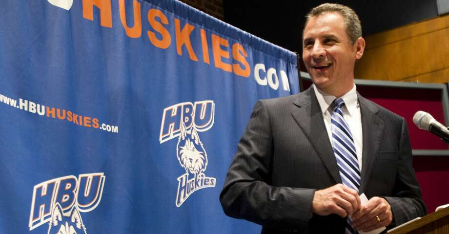 Houston Baptist and football coach Vic Shealy have agreed to a three-year contract extension, the school announced Thursday. Photo: Brett Coomer/Houston Chronicle