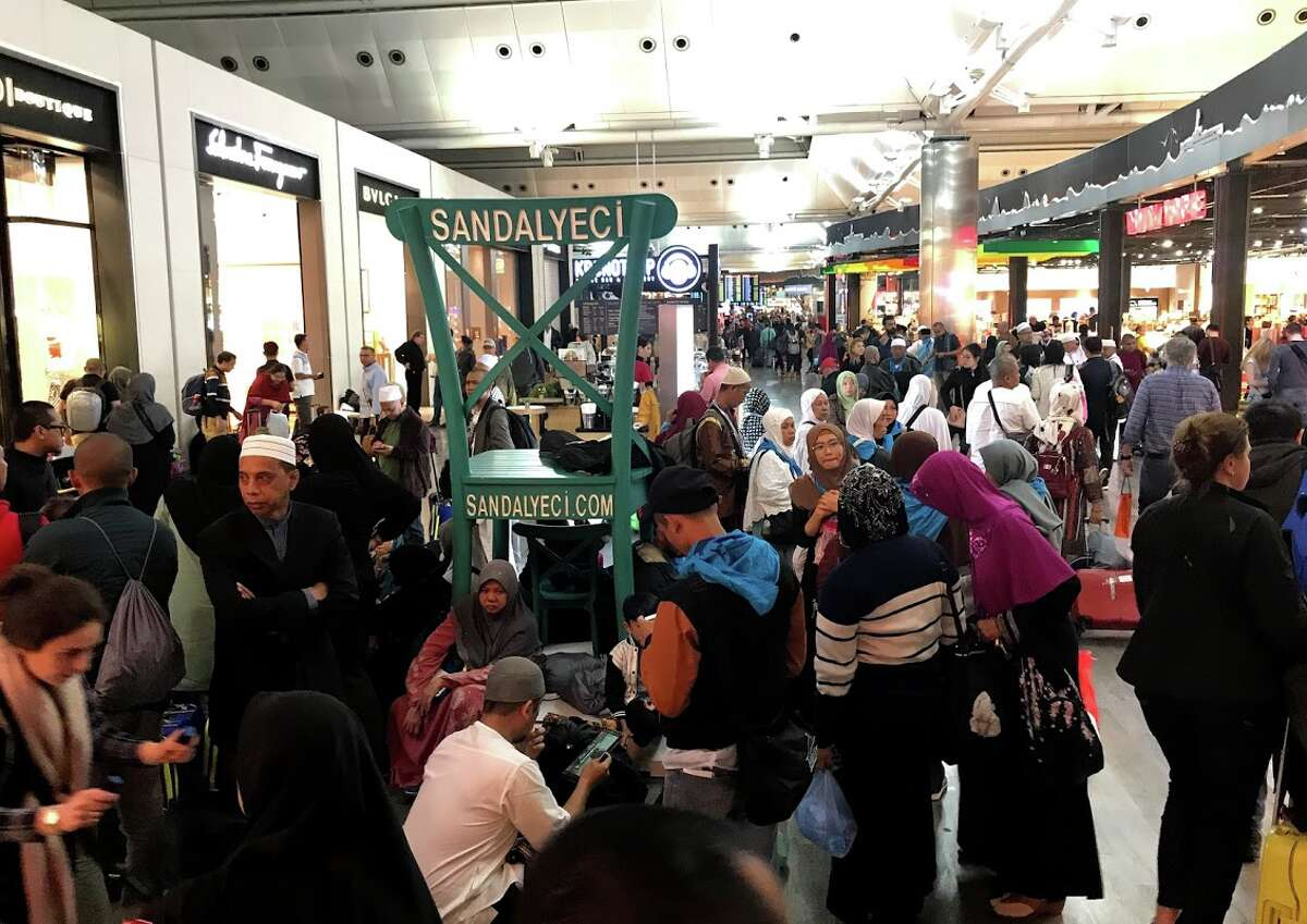 Istanbul Ataturk Airport has become very overcrowded, overheated and crazy at peak times. The New airport should be a welcome change