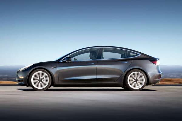 Tesla's highly-anticipated Model 3 is making its debut in Houston on Feb. 2, 2018. This will be the first opportunity for Houstonians to see, touch and sit inside the electric car being showcased at the Galleria Mall.