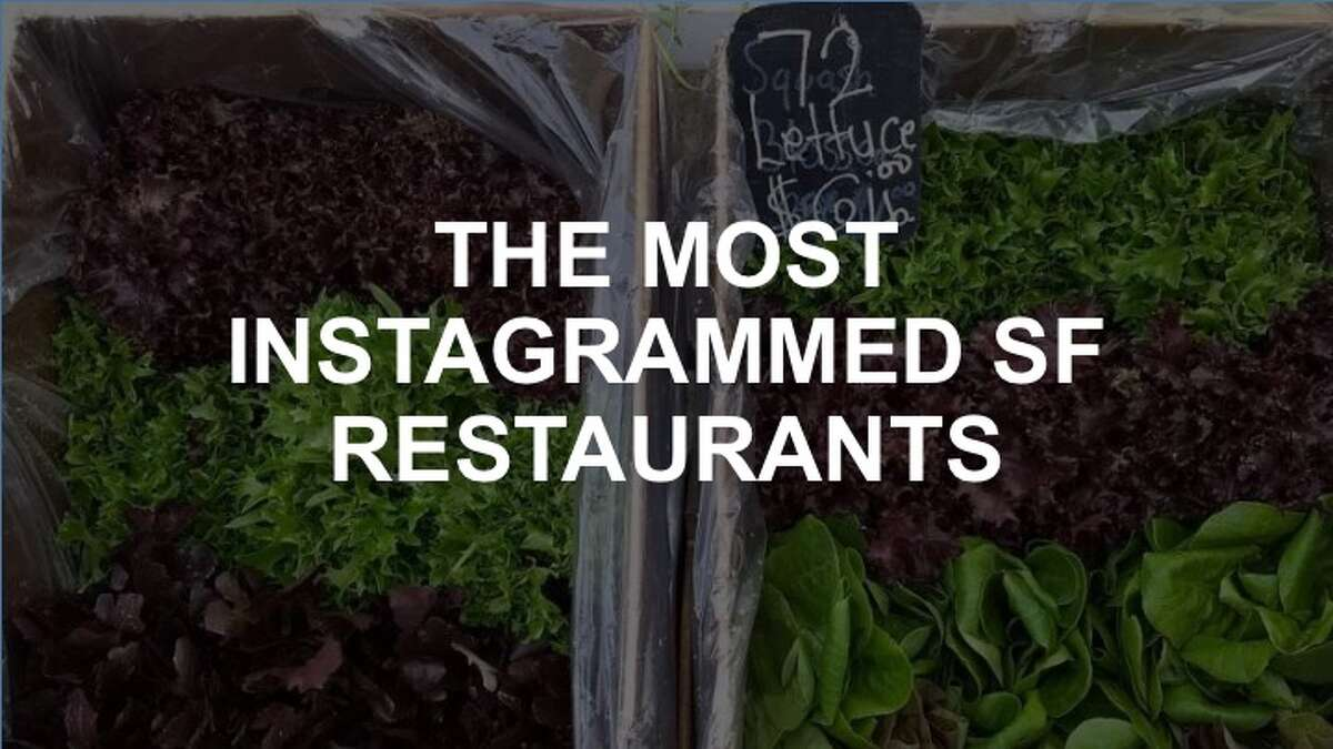 Click through this slideshow for the most Instagrammedbakeries, cafes and specialty food experiences in San Francisco.