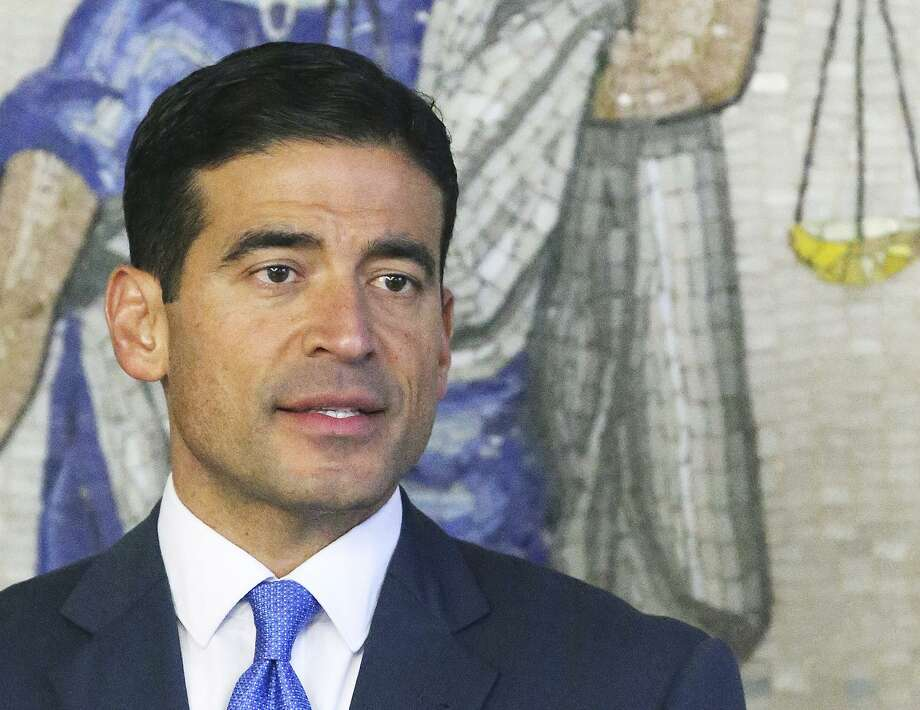 District Attorney Nico LaHood announces his intentions to prosecute Genene Jones on December 6, 2017 Photo: Tom Reel, Staff / San Antonio Express-News / 2017 SAN ANTONIO EXPRESS-NEWS