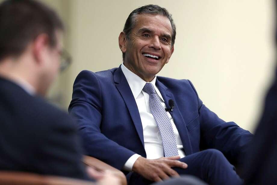 California gubernatorial candidate Antonio Villaraigosa in February. Photo: Scott Strazzante / The Chronicle