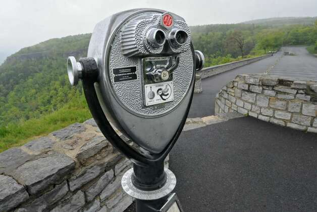 The overlook at Thacher park in New Scotland. (Lori Van Buren/Times Union) Photo: LORI VAN BUREN