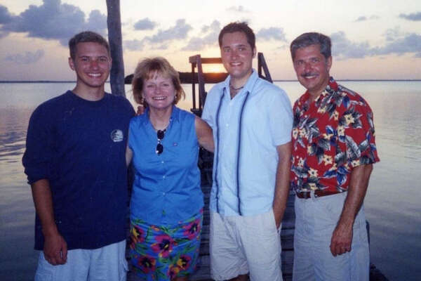 The Whitakers (from left to right): Kevin, Tricia, Bart, and Kent.